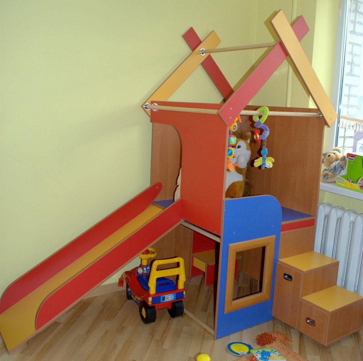 Детский игровой уголок своими руками фото
