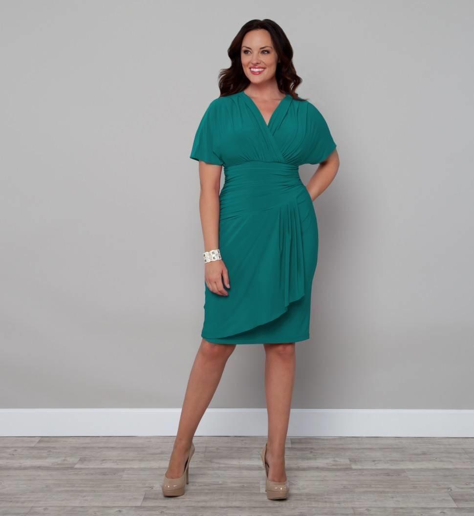 Платье для полных женщин с животом сшить 53