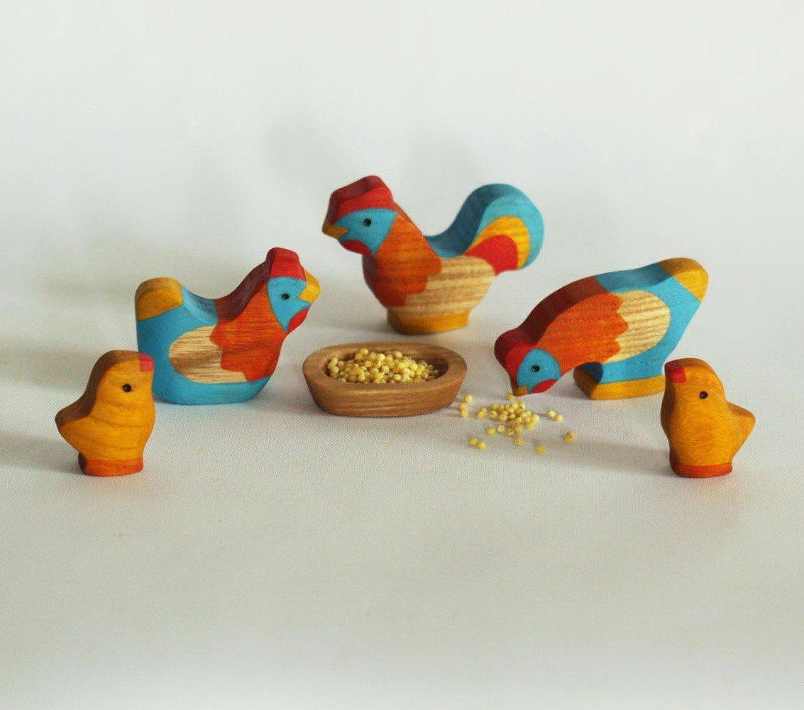 Игрушки петухи и курицы с цыплятами своими руками из ткани выкройки