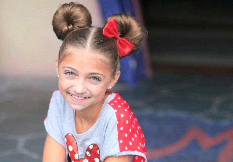 Стильные причёски для девочек 10 лет
