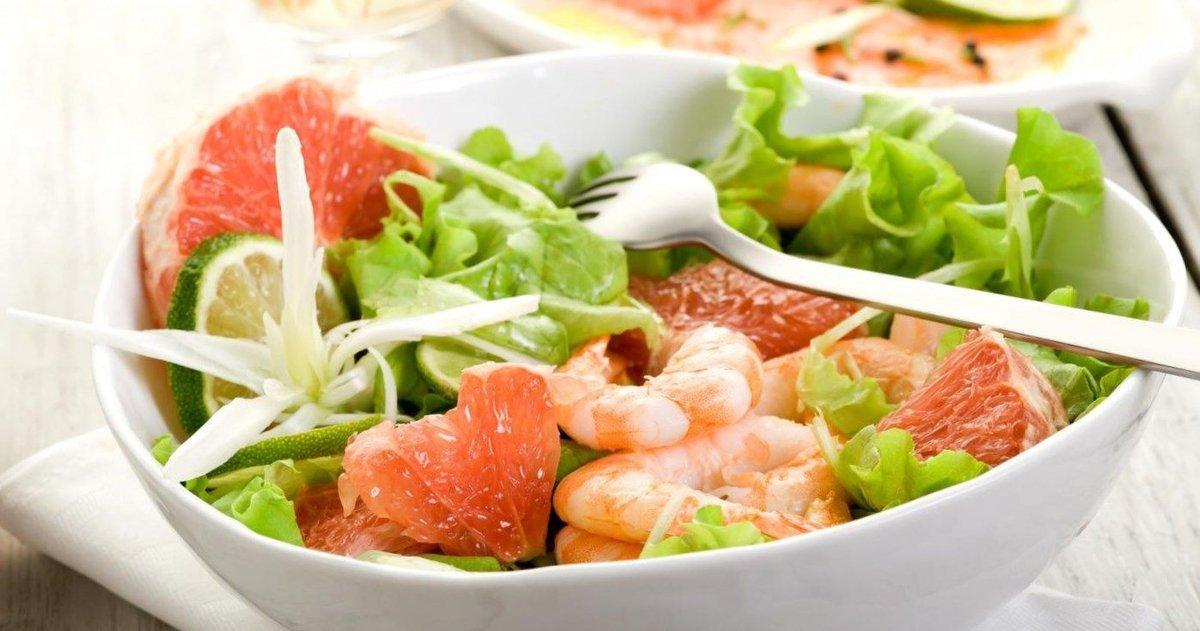 Салат с креветками для беременных 44