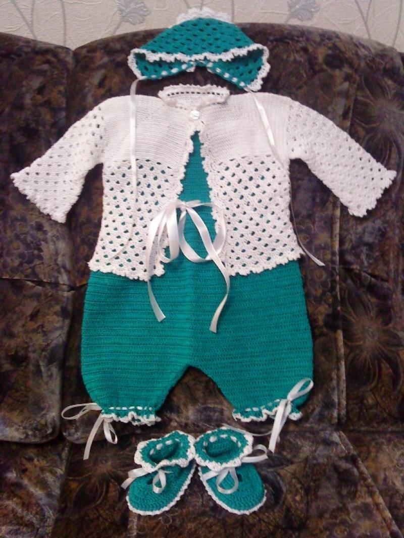 Вязание для новорожденного крючком 101