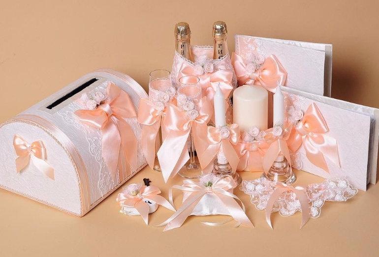 Свадебный набор аксессуаров