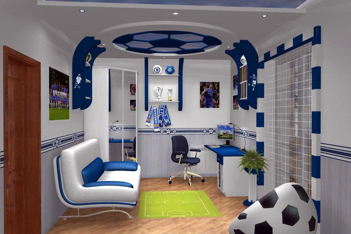 Дизайны детской комнаты для мальчика 10 квм