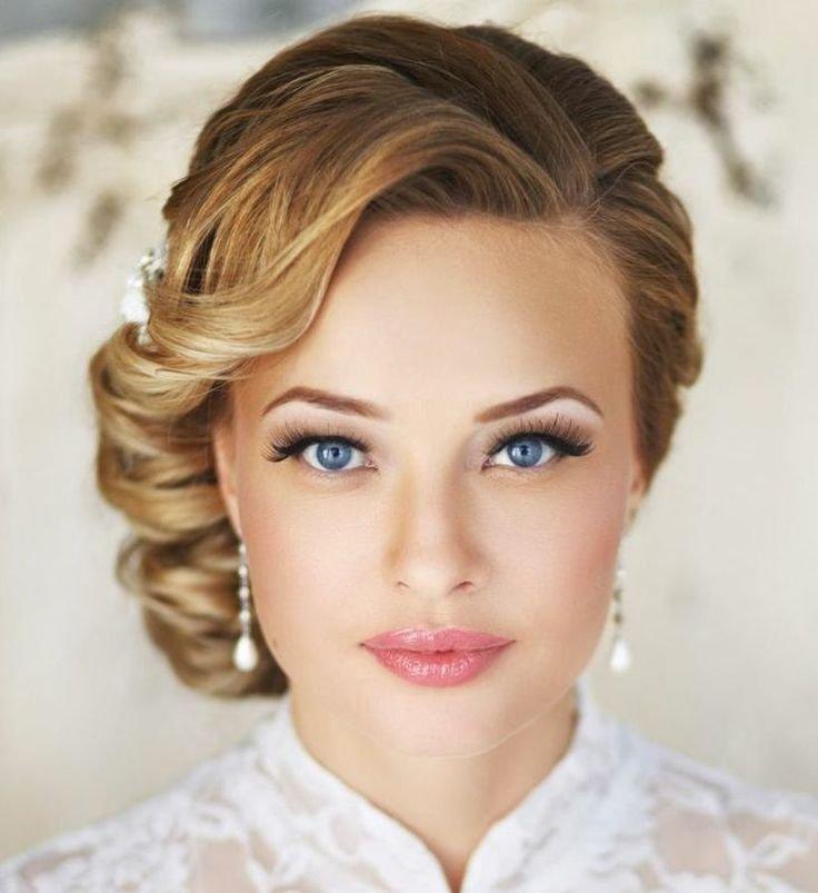 Макияж свадебный для каре зеленых глаз
