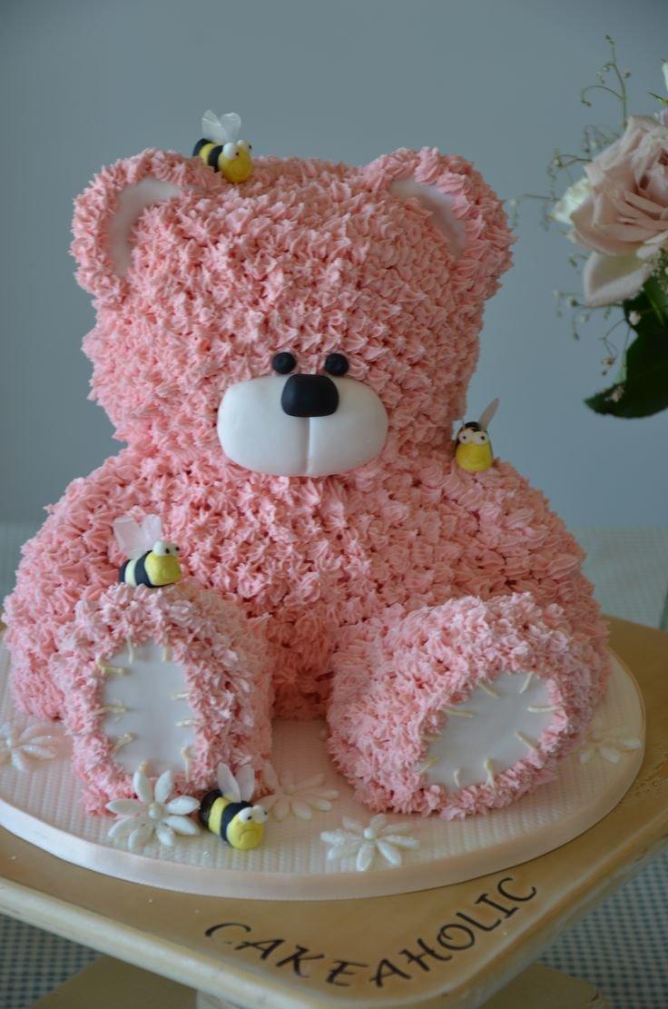 Фото торта из крема для детей