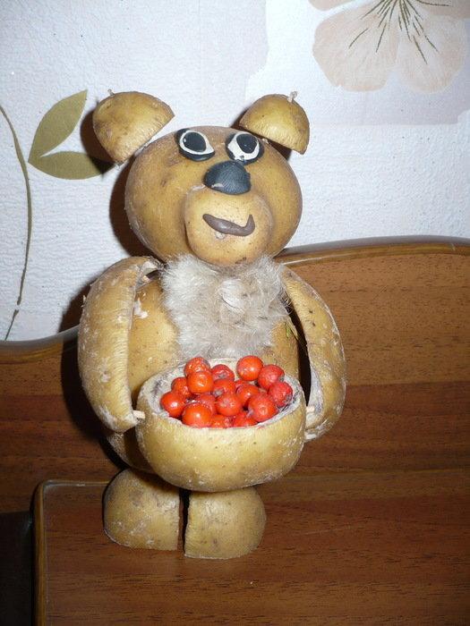Поделки из картофеля для детского сада своими руками