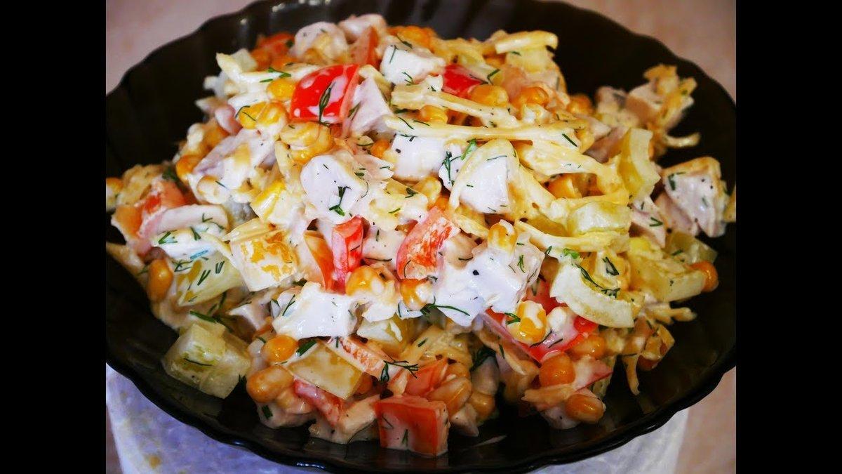 Самые вкусные салаты рецепты с простые