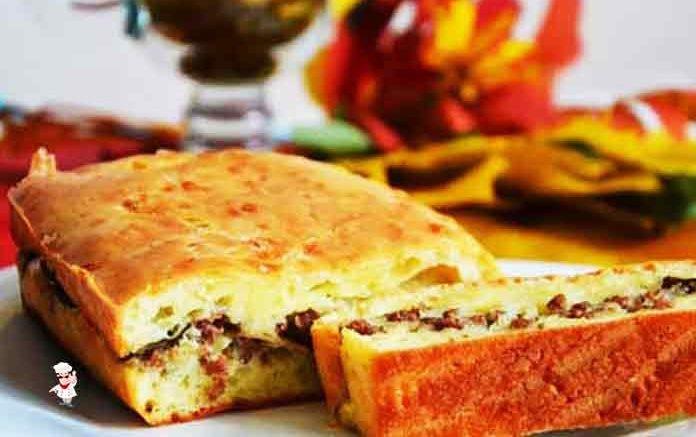 рецепт пирога заливная с фаршем в духовке с пошаговым фото рецептом