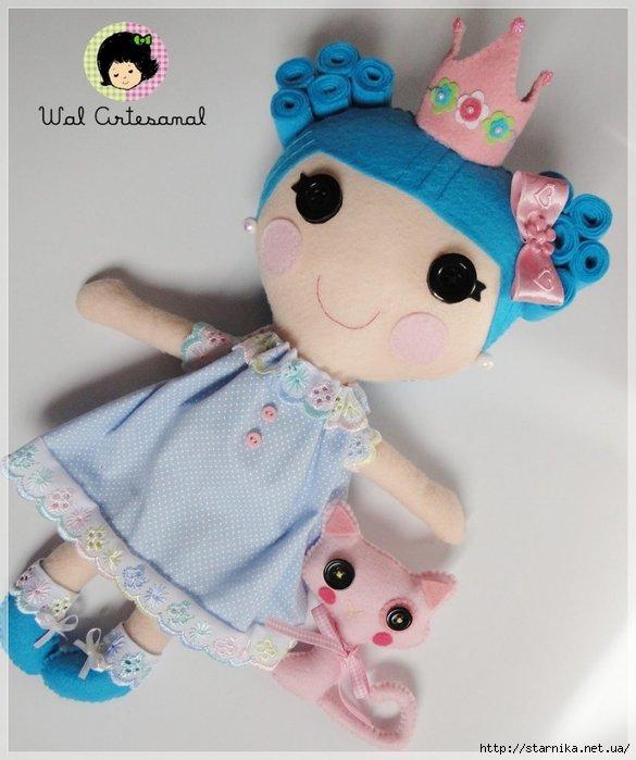 Куклы лалалупси своими руками 9