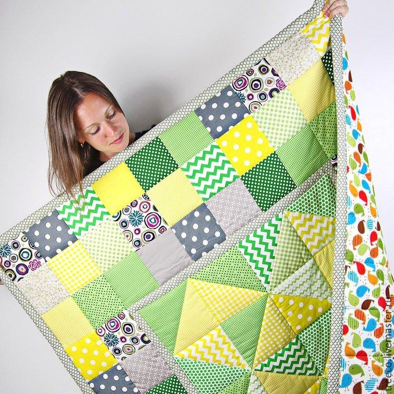 Пэчворк одеяло сшить