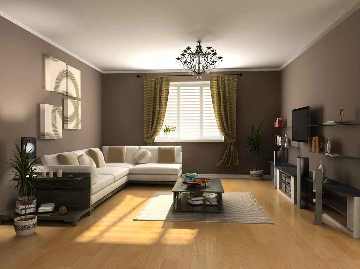 Дизайн гостиной 5 на 3