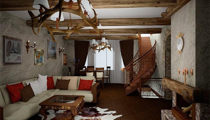 Фото средневековый стиль в интерьере