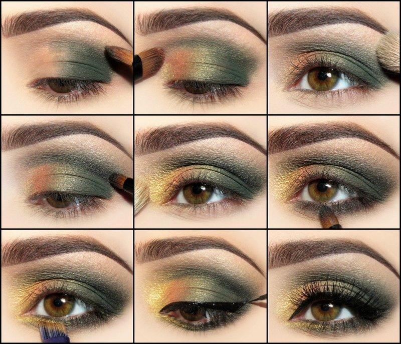 Вечерний макияж до макияжа и после фото Как правильно
