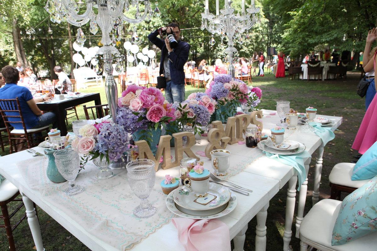 Украшение свадьбы в частном доме фото