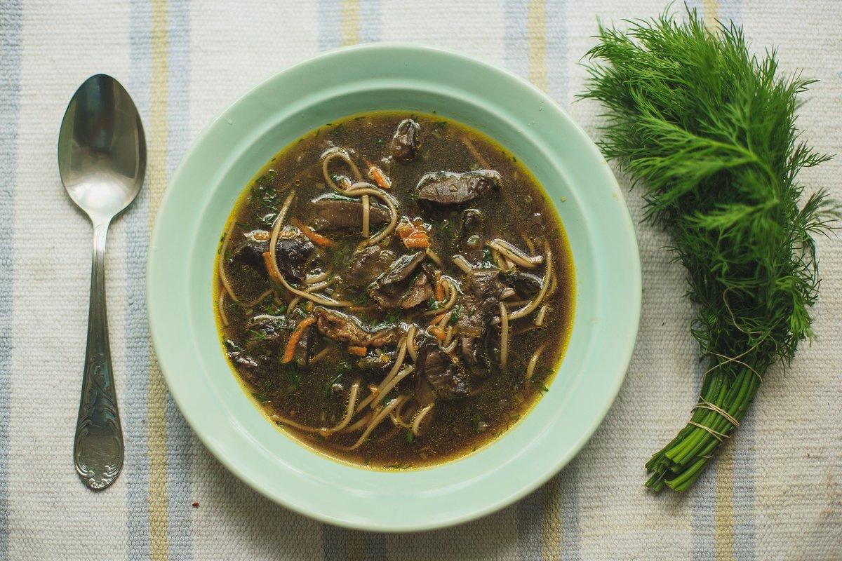 Суп гречневый с шампиньонами рецепт пошагово