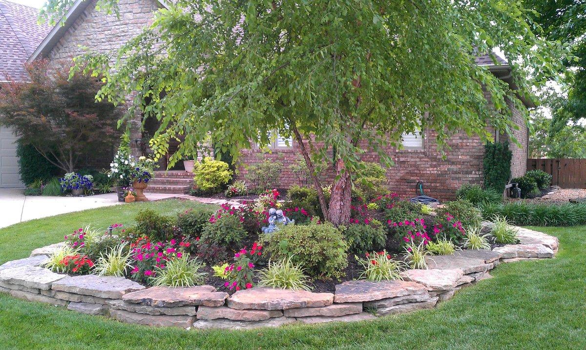Сад около дома своими руками фото 3