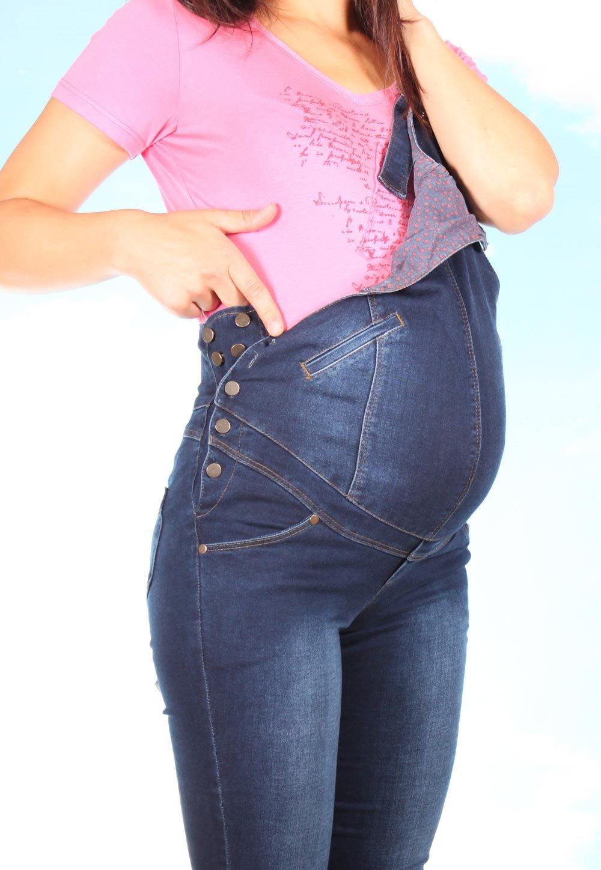Как сделать из джинсов комбинезон для беременных