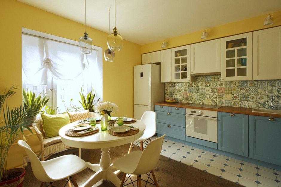 Кухня в теплых тонах  № 889768  скачать