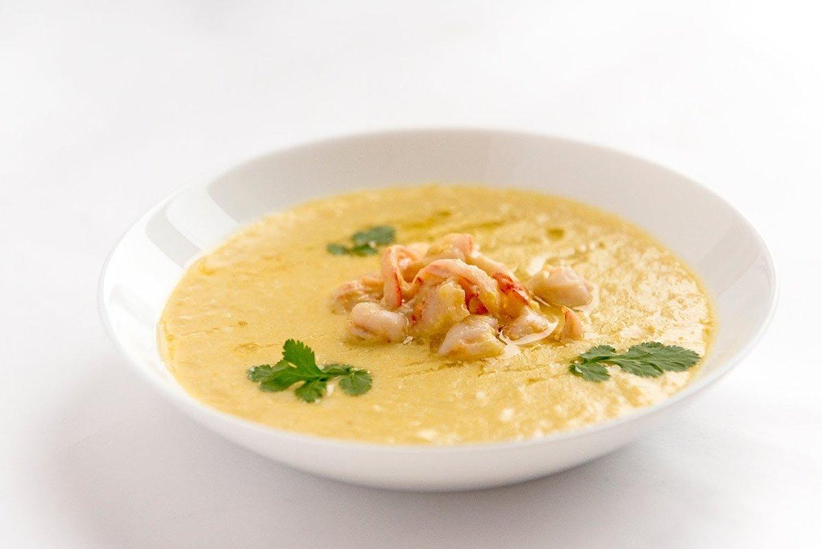 Рецепт суп с креветками на кокосовом молоке рецепт