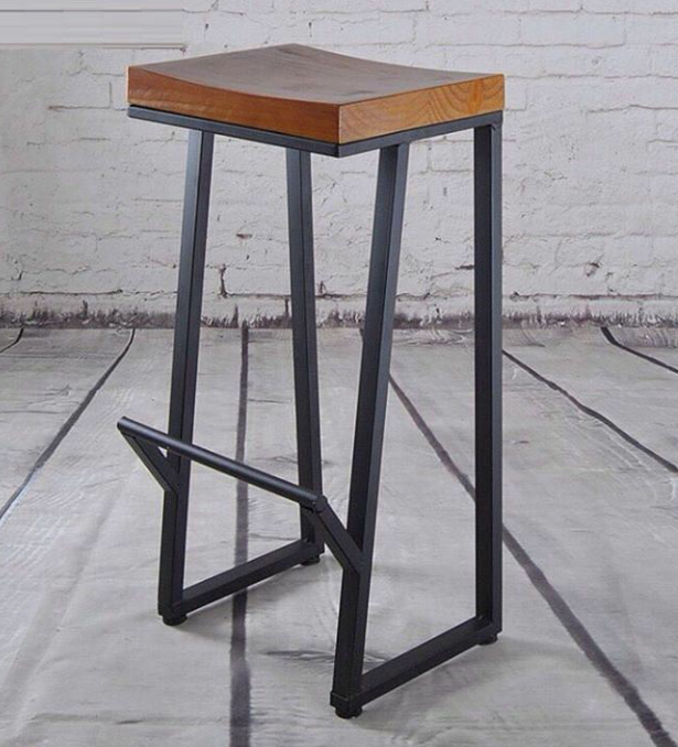 Барный стул из металла своими руками 16