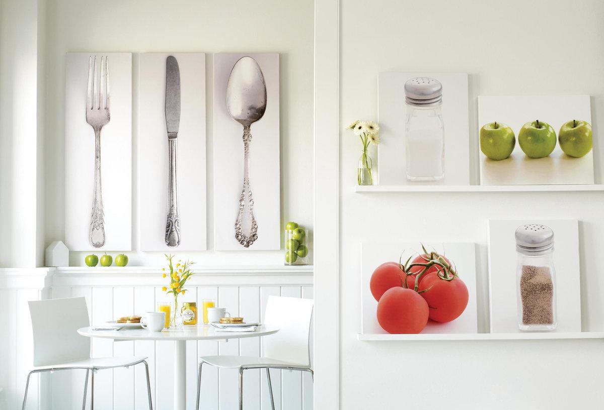 Чем можно украсить кухню своими руками 48