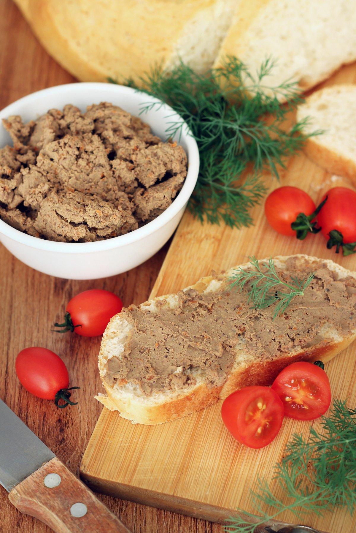 Вкусный печеночный паштет рецепт пошагово