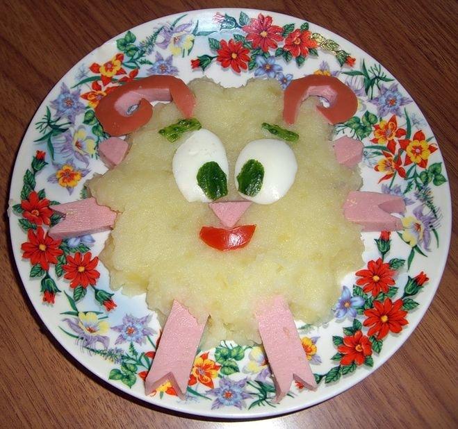 Оформление блюд на день рождения своими руками