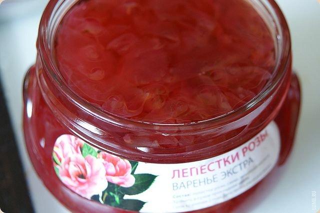 Варенье из розы чайной пошагово с