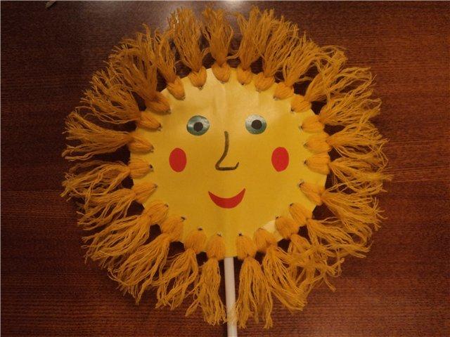 Солнышко сувенир своими руками 6