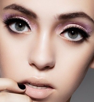 Круглых глаз для макияж