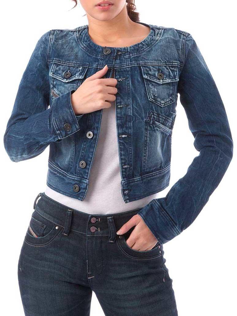 Жакет из джинсовой ткани своими руками