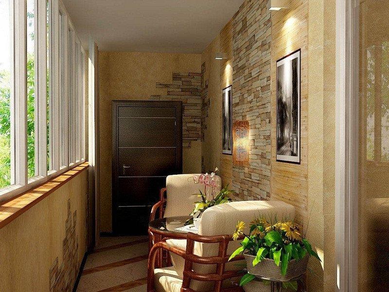Теплые балконы дизайн