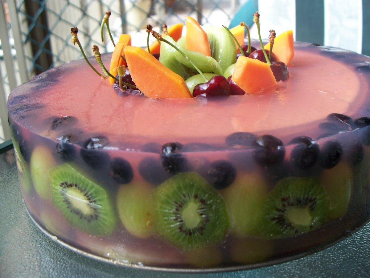 Торты рецепты желейные с фото