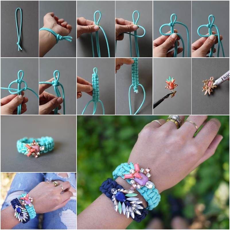 Как сделать друзьям браслеты своими руками 95