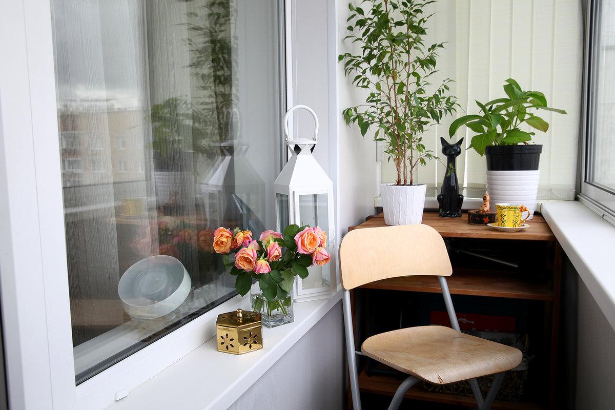 Идеи на балконе своими руками