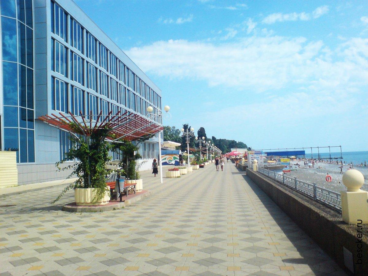 Пляжи города адлера фото