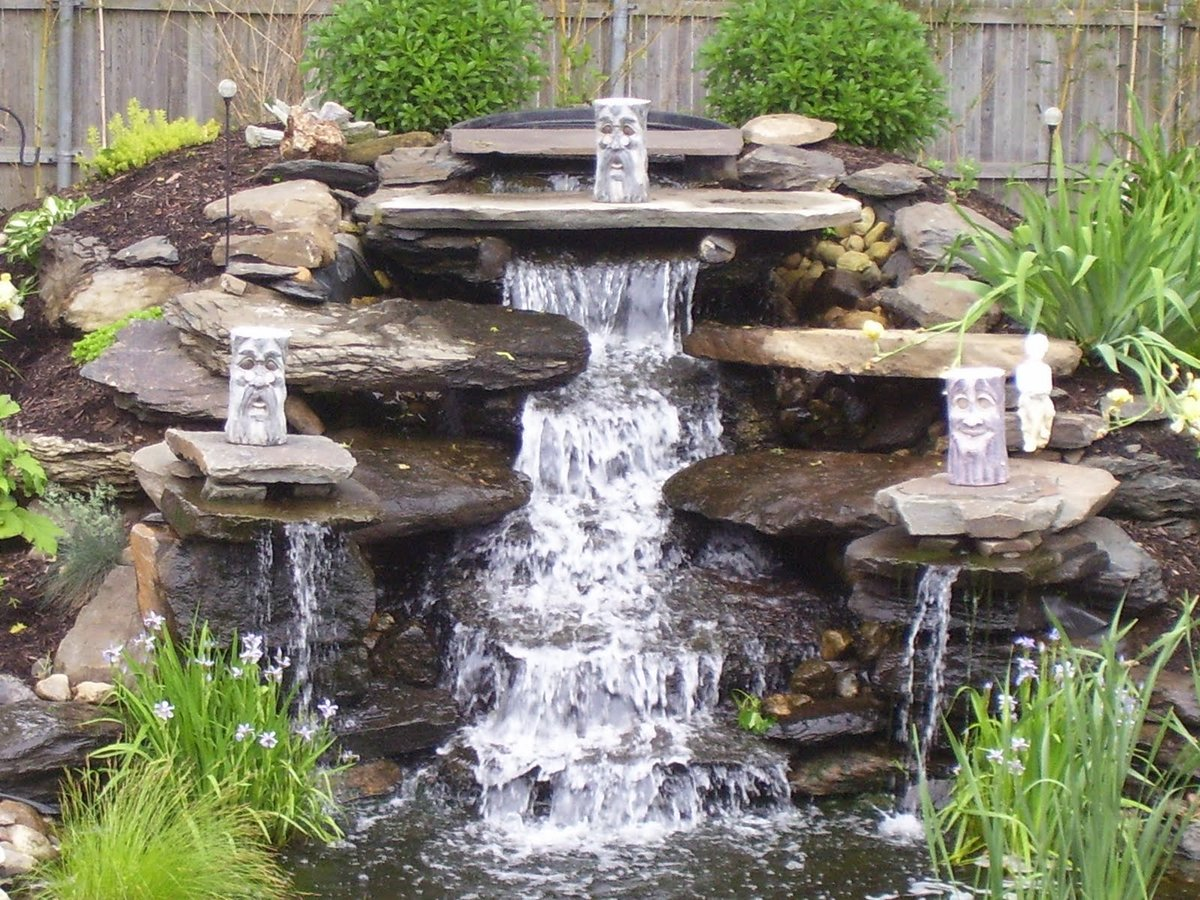 Декоративный водопад своими руками » Самоделки 13
