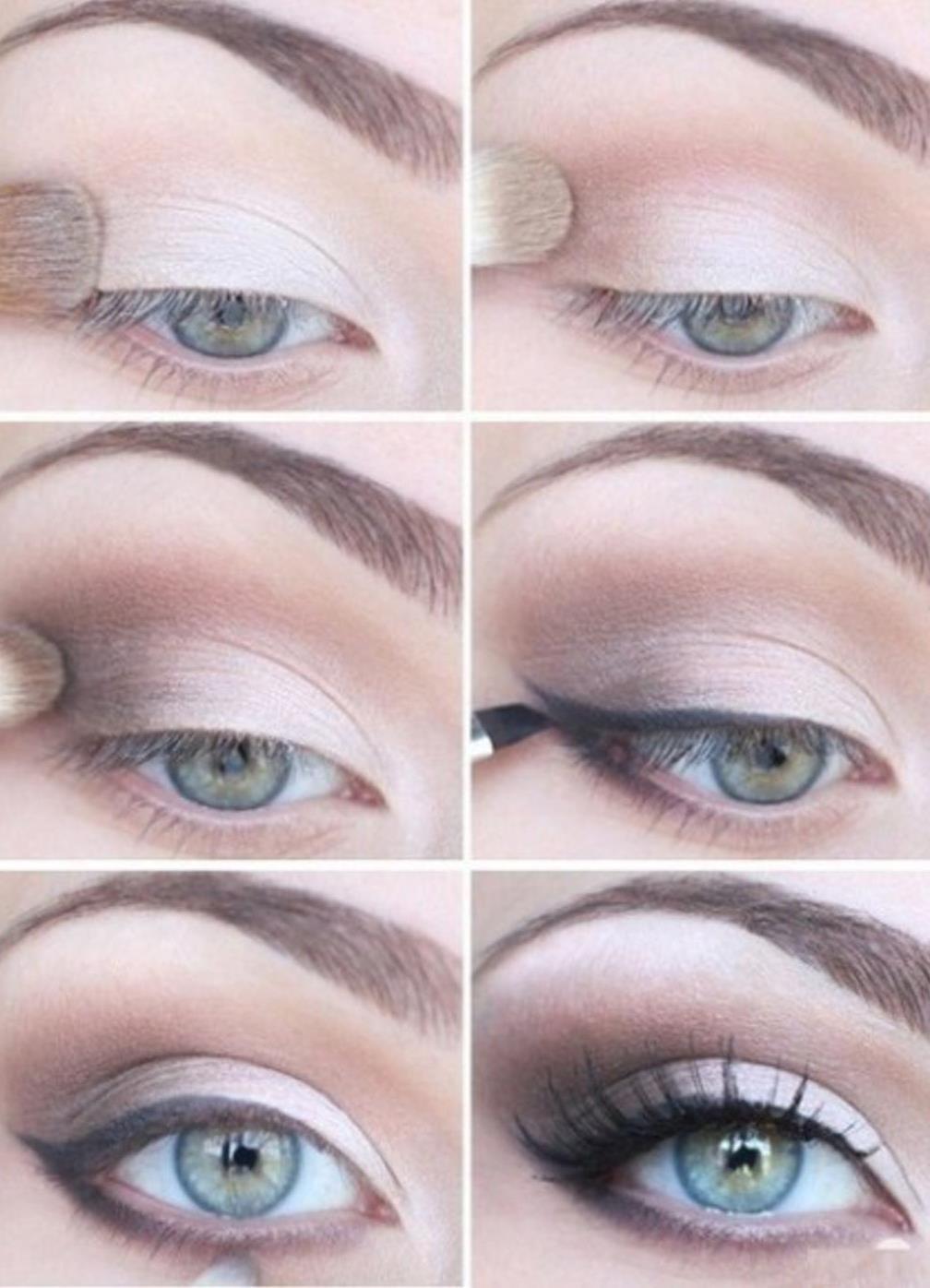 Макияж для серых глаз в домашних условиях фото 595