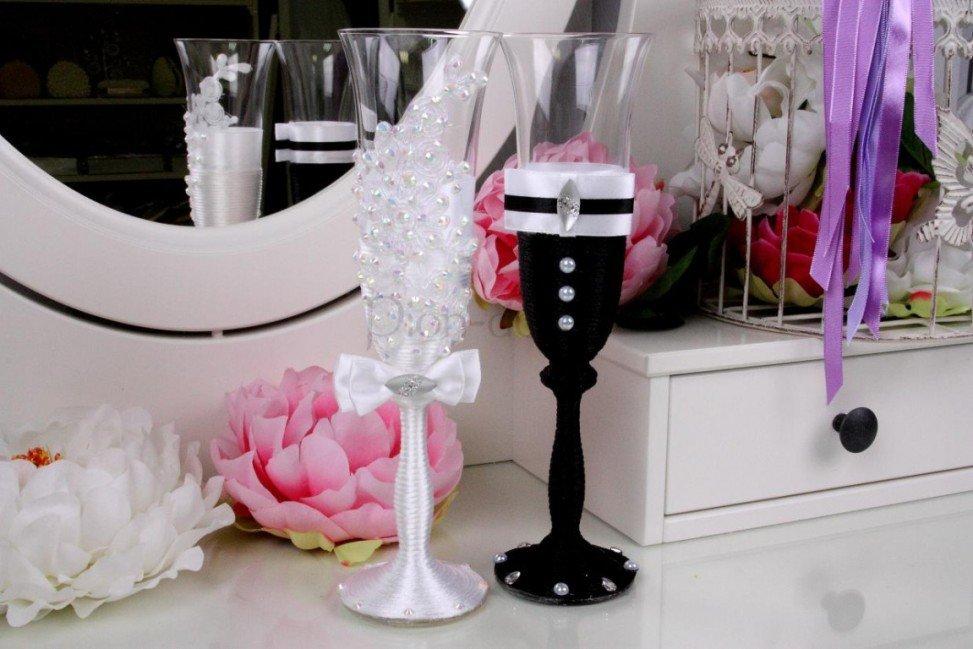 Как сделать украшения для свадебной 78
