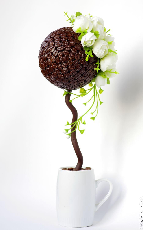 Кофейное дерево своими руками топиарий