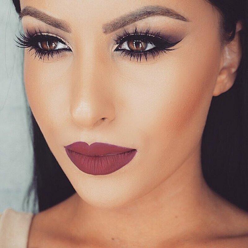 Крутой макияж для карих глаз