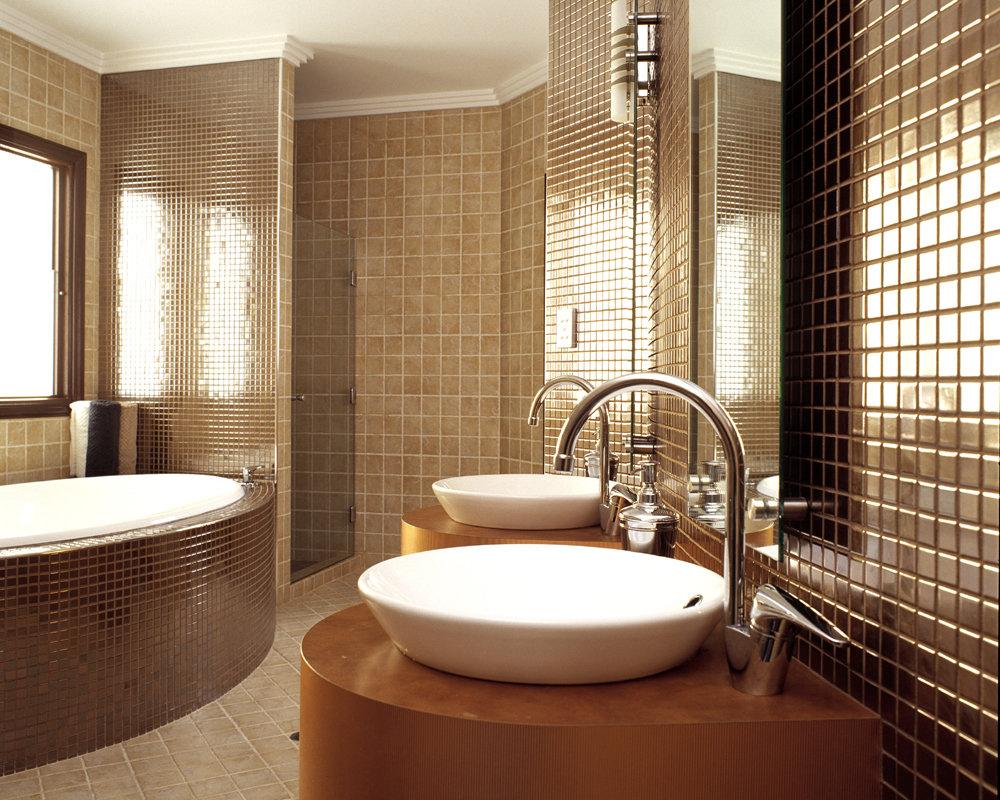 Интерьер в ванной нью