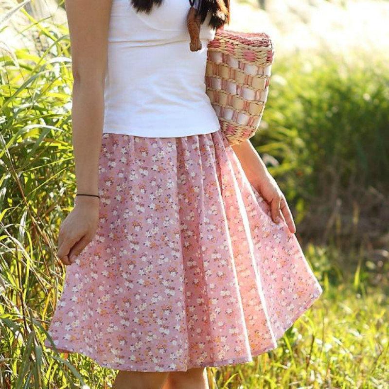 Сшить юбку для лета
