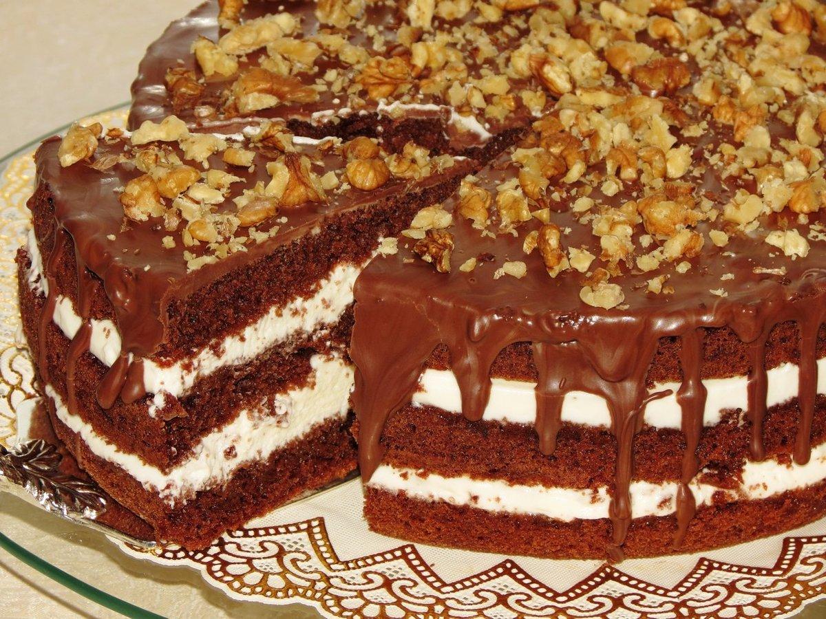 Как сделать торт кудряш