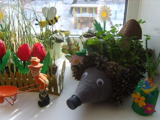 Поделки на тему мой сад и огород 527
