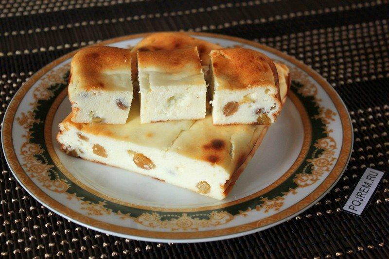 Творожная с запеканка рецепт с фото пошагово