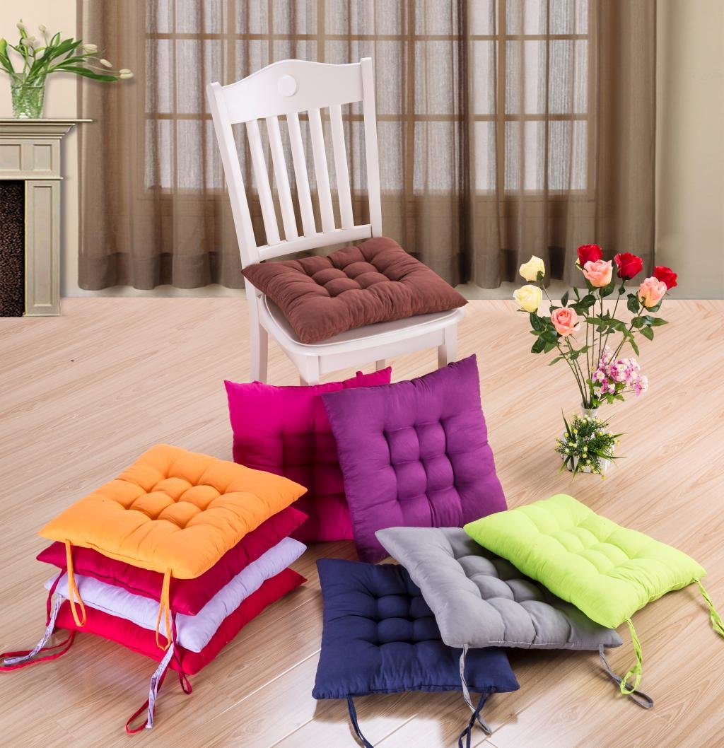 Подушечки для стульев своими руками фото 95
