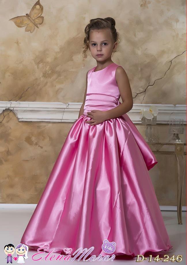 Длинное платье для девочек своими руками 50