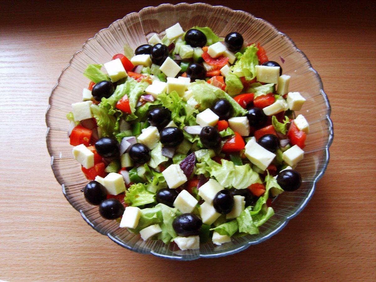 Вкусные и простые салаты на стол рецепты